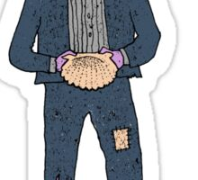 Sea Urchin Beach Boy Sticker