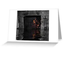 Fire and Water Greeting Card