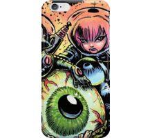 ALIEN EYE & SPACE BABES iPhone Case/Skin