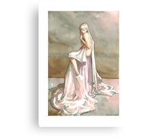 Chain of Flower Canvas Print