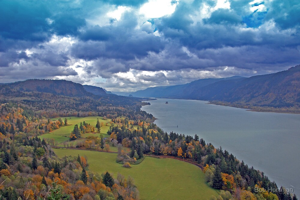 Columbia River Gorge, Washington/Oregon by Bob Hortman