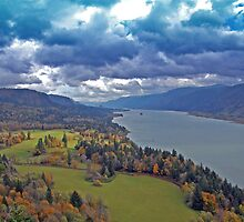 Columbia River Gorge, Washington/Oregon by Bob Hortman