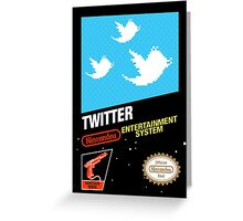 NES Twitter Greeting Card