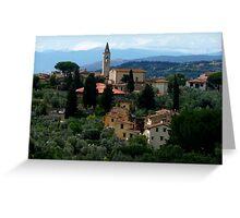 Toscana Hills Greeting Card