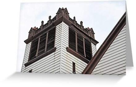 old church Tower by henuly1