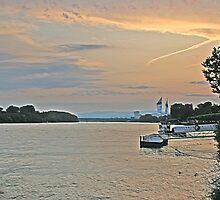 Rhine Evening by Turtle6