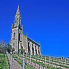 Church on the hill by Turtle6