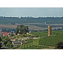 Vineyard Tower Photographic Print