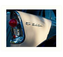 5080_Bel Air Wagon Tail Light Detail Art Print
