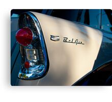 5080_Bel Air Wagon Tail Light Detail Canvas Print