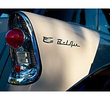 5080_Bel Air Wagon Tail Light Detail Photographic Print