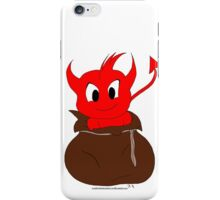 Demon in the sack iPhone Case/Skin