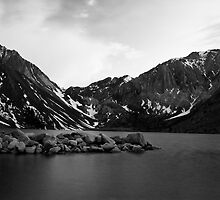 Dusk at Convict Lake in Mono by Justin Mair