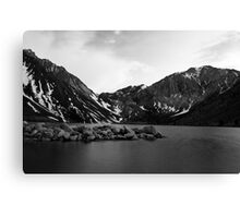 Dusk at Convict Lake in Mono Canvas Print
