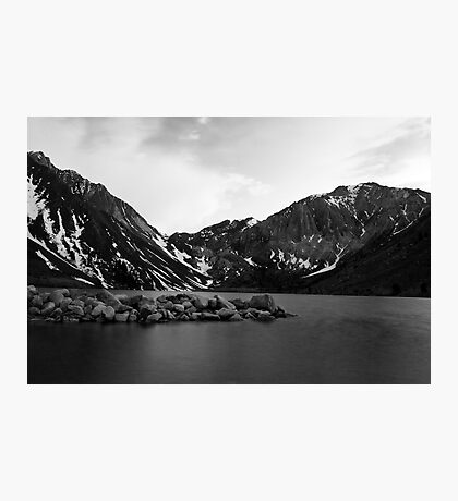 Dusk at Convict Lake in Mono Photographic Print