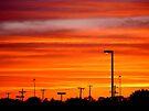 City Sunset by Veronica Schultz