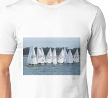 Sailboat Racing Unisex T-Shirt
