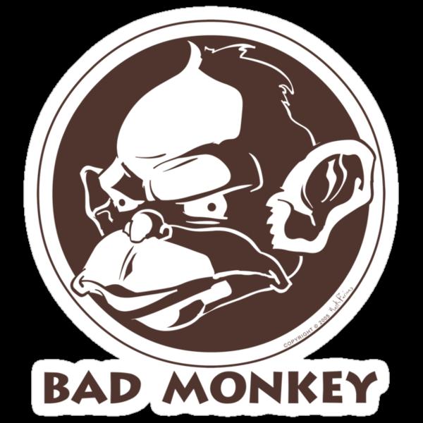 Bad Monkey Logo by BadMonkeyShop