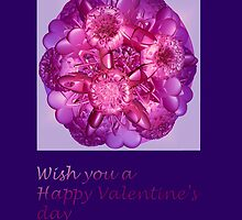 Card Happy Valentine's day by CanDuCreations
