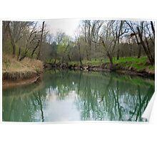 Sulfur Creek Elkmont, AL Poster