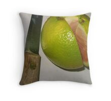 Clean Slice   Throw Pillow