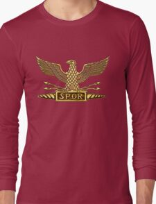 Legion Eagle Gold Long Sleeve T-Shirt