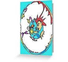 Creation of the Sun, moon, & stars Greeting Card