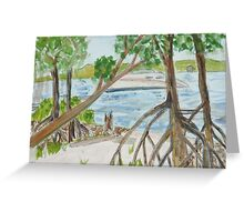 Gumbo Limbo Greeting Card