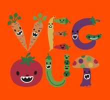 Veg Out - dark colors Kids Clothes