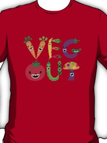 Veg Out - dark colors T-Shirt