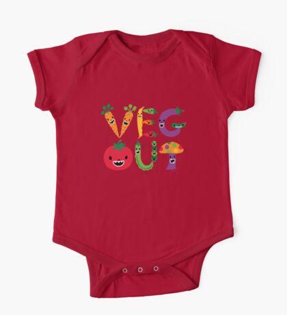 Veg Out - dark colors Kids Clothes