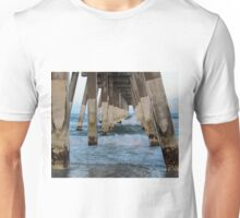 Waves Under The Pier Unisex T-Shirt