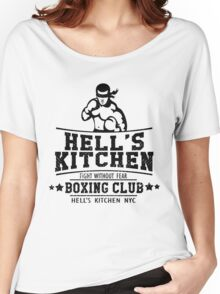 HELL'S KITCHEN BOXING CLUB Women's Relaxed Fit T-Shirt