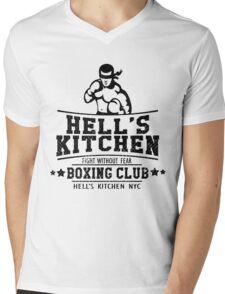 HELL'S KITCHEN BOXING CLUB Mens V-Neck T-Shirt