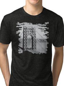Pixel Bridge Tri-blend T-Shirt