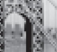 Pixel Bridge Sticker
