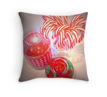 """Holiday Remnants"" Throw Pillow"