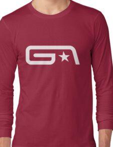 Groove Armada White Logo Long Sleeve T-Shirt