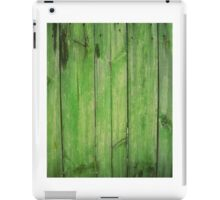 Old wood texture pattern for web background iPad Case/Skin