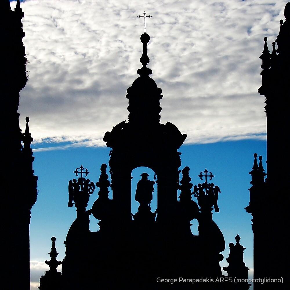 Santiago de Compostela Cathedral, Spain by George Parapadakis (monocotylidono)