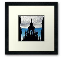 Santiago de Compostela Cathedral, Spain Framed Print