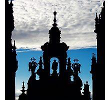 Santiago de Compostela Cathedral, Spain Photographic Print