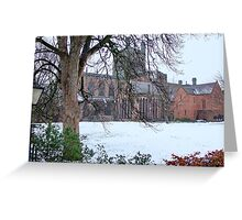 Chester Cathedral, UK Greeting Card