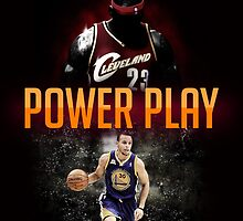 lebron and curry by Luvee