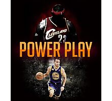 lebron and curry Photographic Print
