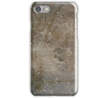 Grunge wall of the old house. Textured background iPhone Case/Skin