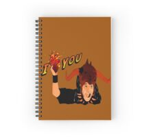 Temple of Love Spiral Notebook