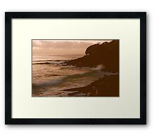 INTENSITY VIEW ! Framed Print