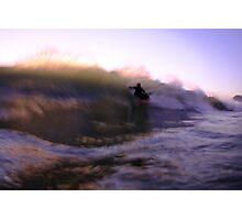 Sunset Motion Blur Photographic Print
