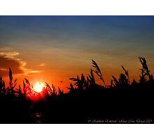 July Sunset - Montana, USA Photographic Print